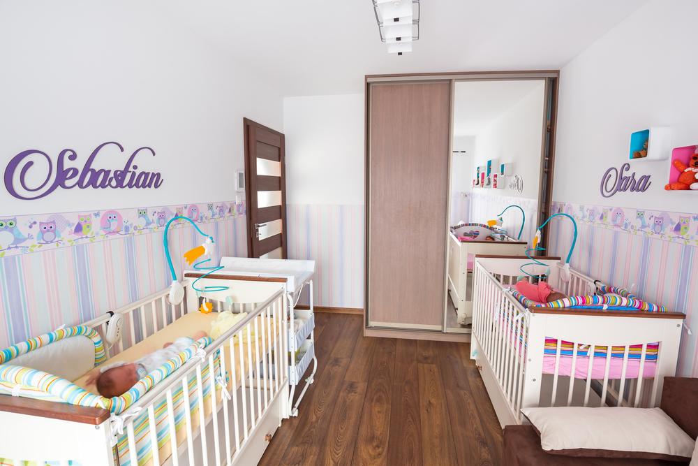 İkiz Bebek Odası Dekorasyon