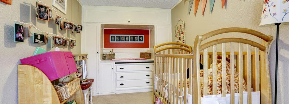 Bebek Odası Dolapları Amacına Uygun Seçilmeli