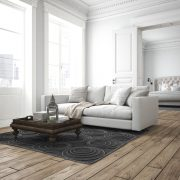 Beyaz Renk Salon Tasarımları Ferahlık Sunuyor