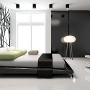 2017 Yılı Modern Yatak Odası Dekorasyon