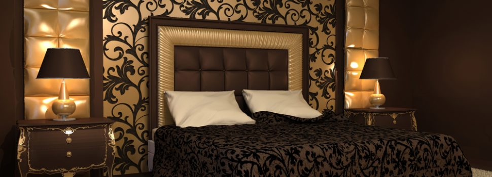 Modernize Edilmiş Romantik Yatak Odası Dekorasyon
